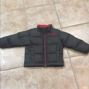 Toddler Boy's North Face Puffer Coat size 2T
